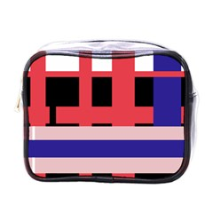 Red abstraction Mini Toiletries Bags