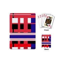 Red abstraction Playing Cards (Mini)