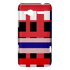 Red abstraction HTC Radar Hardshell Case
