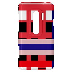 Red abstraction HTC Evo 3D Hardshell Case