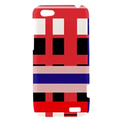 Red abstraction HTC One V Hardshell Case