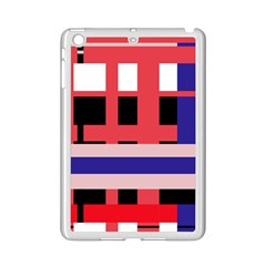 Red abstraction iPad Mini 2 Enamel Coated Cases