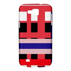 Red abstraction Samsung Galaxy Premier I9260 Hardshell Case