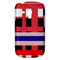 Red abstraction Samsung Galaxy S3 MINI I8190 Hardshell Case