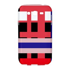 Red abstraction Samsung Galaxy Grand DUOS I9082 Hardshell Case