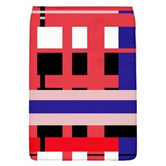 Red abstraction Flap Covers (L)