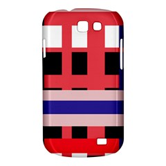 Red abstraction Samsung Galaxy Express I8730 Hardshell Case