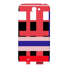Red abstraction Samsung Note 2 N7100 Hardshell Back Case