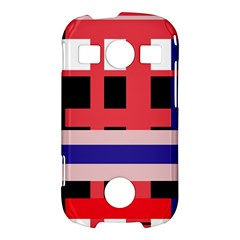 Red abstraction Samsung Galaxy S7710 Xcover 2 Hardshell Case