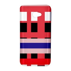 Red abstraction HTC Butterfly S/HTC 9060 Hardshell Case