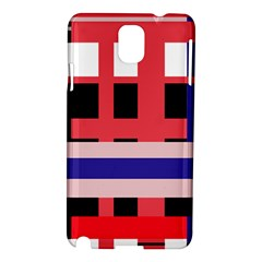 Red abstraction Samsung Galaxy Note 3 N9005 Hardshell Case
