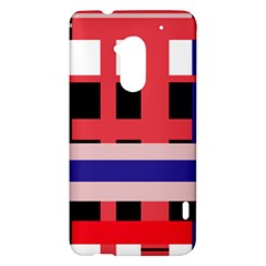 Red abstraction HTC One Max (T6) Hardshell Case
