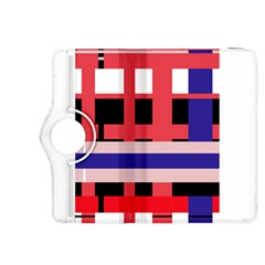 Red abstraction Kindle Fire HDX 8.9  Flip 360 Case