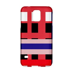 Red abstraction Samsung Galaxy S5 Hardshell Case