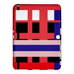Red abstraction Samsung Galaxy Tab 4 (10.1 ) Hardshell Case