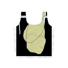 Elegant design Full Print Recycle Bags (S)