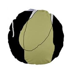 Elegant design Standard 15  Premium Flano Round Cushions