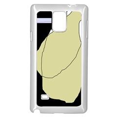 Elegant design Samsung Galaxy Note 4 Case (White)