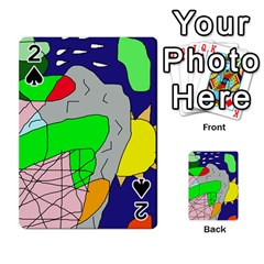 Crazy abstraction Playing Cards 54 Designs