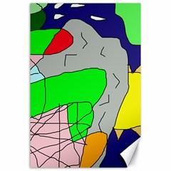Crazy abstraction Canvas 24  x 36