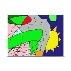 Crazy abstraction Plate Mats