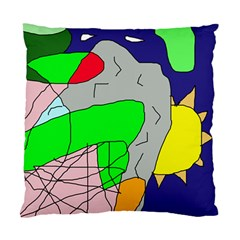 Crazy abstraction Standard Cushion Case (One Side)