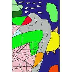 Crazy abstraction 5.5  x 8.5  Notebooks