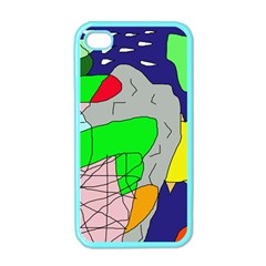 Crazy abstraction Apple iPhone 4 Case (Color)