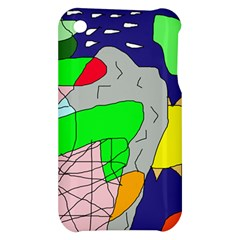 Crazy abstraction Apple iPhone 3G/3GS Hardshell Case
