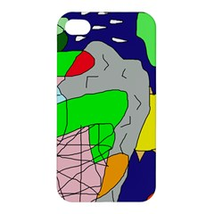 Crazy abstraction Apple iPhone 4/4S Hardshell Case