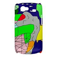 Crazy abstraction Samsung Galaxy Nexus S i9020 Hardshell Case