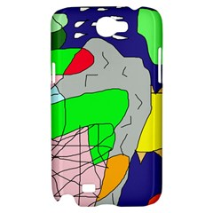 Crazy abstraction Samsung Galaxy Note 2 Hardshell Case