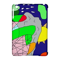 Crazy abstraction Apple iPad Mini Hardshell Case (Compatible with Smart Cover)