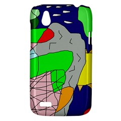 Crazy abstraction HTC Desire V (T328W) Hardshell Case