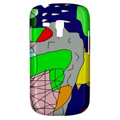 Crazy abstraction Samsung Galaxy S3 MINI I8190 Hardshell Case