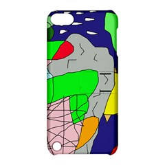 Crazy abstraction Apple iPod Touch 5 Hardshell Case with Stand