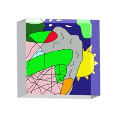Crazy abstraction 4 x 4  Acrylic Photo Blocks