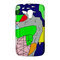 Crazy abstraction Samsung Galaxy Duos I8262 Hardshell Case