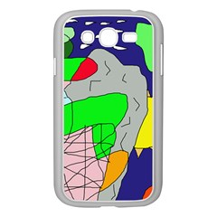 Crazy abstraction Samsung Galaxy Grand DUOS I9082 Case (White)
