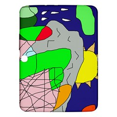 Crazy abstraction Samsung Galaxy Tab 3 (10.1 ) P5200 Hardshell Case