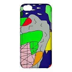 Crazy abstraction Apple iPhone 5C Hardshell Case