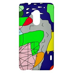 Crazy abstraction HTC One Max (T6) Hardshell Case
