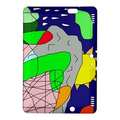 Crazy abstraction Kindle Fire HDX 8.9  Hardshell Case