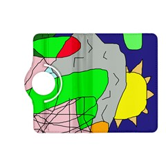 Crazy abstraction Kindle Fire HD (2013) Flip 360 Case
