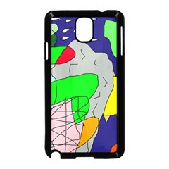 Crazy abstraction Samsung Galaxy Note 3 Neo Hardshell Case (Black)