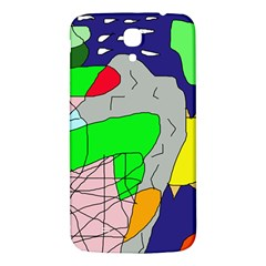 Crazy abstraction Samsung Galaxy Mega I9200 Hardshell Back Case