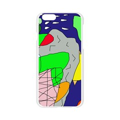 Crazy abstraction Apple Seamless iPhone 6/6S Case (Transparent)