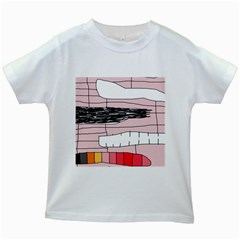 Worms Kids White T-Shirts