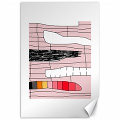 Worms Canvas 20  x 30