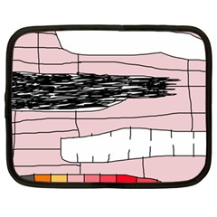 Worms Netbook Case (Large)
